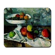 Paul Cezanne Still Life with Compotier Mousepad Mouse Mat