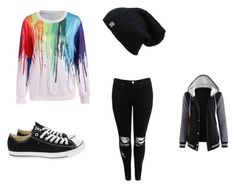 """""""Rainbow"""" by bananajuice-1 ❤ liked on Polyvore featuring art"""