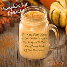 Find delicious diet shakes at 310 Nutrition. Our low-cal, meal replacement shakes are optimal for healthy weight loss. 310 Shake Recipes, Herbalife Shake Recipes, Protein Shake Recipes, Protein Shakes, Isagenix Shakes, 310 Nutrition Shake, Nutrition Meal Plan, Pumpkin Protein Shake, Pumpkin Smoothie