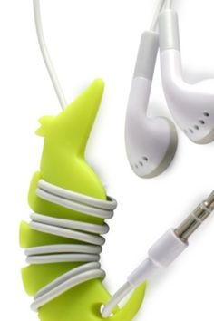 This seahorse cable organizer is a cute way to keep your headphones organized.