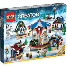 Đồ chơi LEGO 10235 Winter Village Market – Hội chợ mùa đông