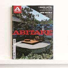 The latest @abitare looks at new #hotels around the world #abitare #architecture #design #interiors #swimmingpool #outdoorarea #restaurant