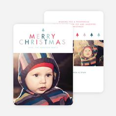 A Simple Merry Christmas Card from Paper Culture