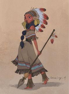 4forfun - Guerreiro/a Indígena - Indian Warrior