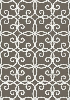 Kendall #wallpaper in #charcoal from the Geometric Resource 2 collection. #Thibaut
