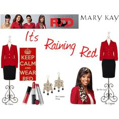 """It's Raining Red Mary Kay"" Www.marykay.com/sjones42600 Call or Text 585.210.9838 www.facebook.com/msshantelsmarykay"