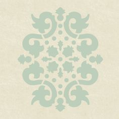 SSO2075 Jaipur Damask Accent Stencil | Flickr - Photo Sharing!