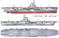 HMS Ark Royal aircraft carrier profile. Aircraft Carrier Database of the Fleet Air Arm Archive 1939-1945