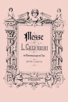 Cherubini, Luigi : Messe no. 1 F dur Fa majeur - F major ... im Klavierauszug…
