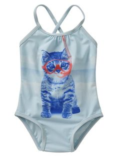 Snorkel kitty one-piece Product Image