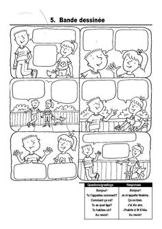 62 Best Blank Comics for Speech Therapy images in 2019