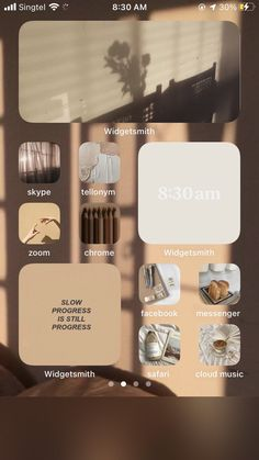 Iphone Home Screen Layout, Iphone App Layout, Iphone Design, Iphone Hacks, Iphone Wallpaper Ios, Girl Wallpapers For Iphone, Ios Update, Phone Themes, Iphone Icon