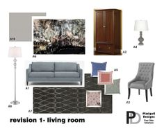 Eco Friendly Interior Design- Living Room Revision Presentation #interiordesign #ecofriendly #NYC www.pizzigatidesigns.com