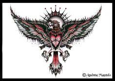 fenix+commission_eagle_tattoo_redo_by_drea0078-d3defkz.jpg (900×636)