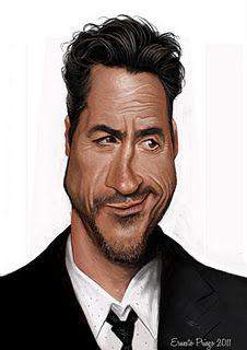 (c) Ernesto Priego  - Robert Downey Jr