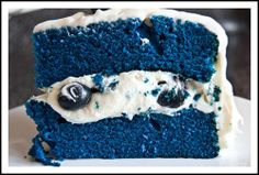 smurf birthday party ideas and inspiration #Smurf #cakes www.loveitsomuch.com