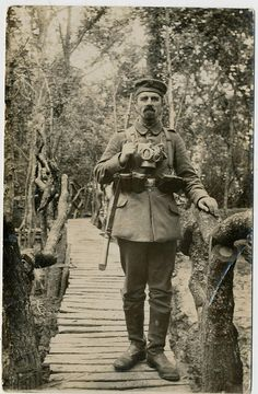 German Soldier. WWI