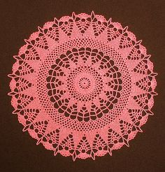 Bea's 14-inch Round Doily (Tribute to Janie Herrin) | by MS Magnolia