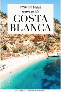 Heading to the Costa Blanca this year for some summer sun? Here's where to find the best beach resorts, sandiest beaches, prettiest scenery, nightlife, and the best beach hotels. #spain #costablanca #beach #vacation #europe #travel #mediterranean #tmtb Top Travel Destinations, Europe Travel Tips, Spain Travel, European Travel, Amazing Destinations, Travel Guides, Budget Travel, Destin Beach, Beach Trip