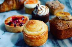 To start the day off right, head to the Barista Nook at Conrad New York to pick up fresh, flaky pastries to go with your morning cup of coffee.