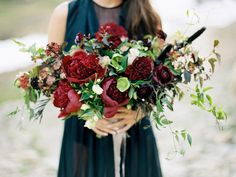 Sultry and Romantic Valentine's Day and Bridal Inspiration | Winsome and Wright | Wedding Sparrow