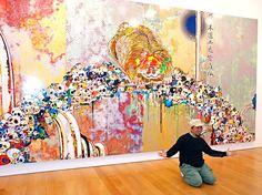Murakami's Spirited Flowers & Skulls Exhibit For The Cheery Goth