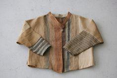 芭蕉布のパッチジャケット 全体 | Bashofu