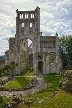 Jumièges Abbey - Normandy, France