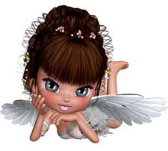 Cute 3D Angel PNG Picture Clipart
