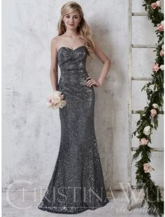 87e3f1e8ff7 Christina Wu Celebration 22726 is a full sequin bridesmaid gown that will  shine through your event