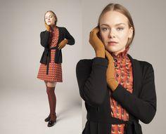 from the Norwegian designer Mette Møller High Neck Dress, Winter, Dresses, Design, Fashion, Turtleneck Dress, Winter Time, Vestidos, Moda