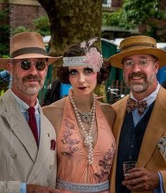 :: David Ernst Rosie Cheeks & Michael DeLucia - Image from the Jazz-Age Lawn Party (2012) by Evan Santé, via Flickr