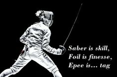 """I hate that t-shirt graphic that ends with """"Epee is TRUTH"""" so I made a much more accurate graphic."""