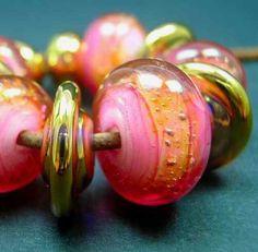 5FISH Handmade Lampwork Murano Glass Set Beads Italian Royal Hawaiian   eBay