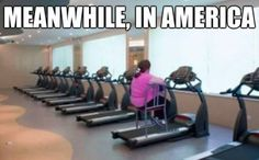 """The """"Meanwhile, in America"""" meme takes the cliché phrasing from film, television, and literature """"meanwhile, in..."""" and applies it to the United States, often pointing out examples of American excess, ignorance, or laziness. It's been turned into some of the most popular ..."""