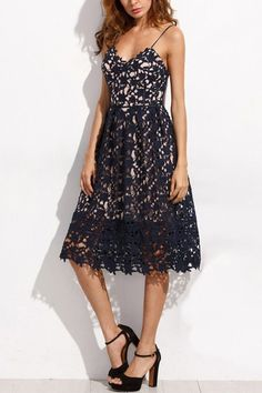 Take this dress out to a special occasion, to a night out dancing, or out to dinner!  #dress   #lace   #maykool