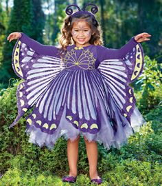 purple butterfly costume - Ruby wants this and she doesn't even know!! I think we can do this!!