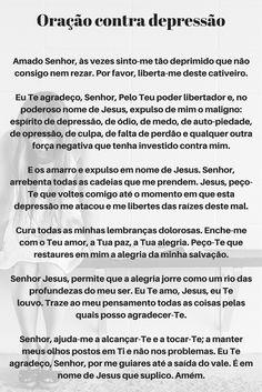 Oração contra depressão #oração #depressão