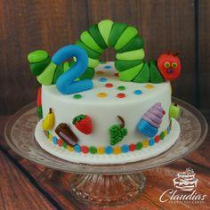 Raupe Nimmersatt Torte | The Very Hungry Caterpillar Cake