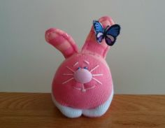 Rabbit from socks