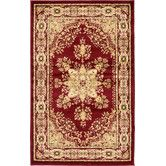 Found it at Wayfair - Isfahan Red Area Rug