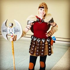 How to Train Your Dragon Cosplay - Astrid  http://instagram.com/geekxgirls