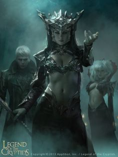 thetygre: Dark Queen Guinevere (Advanced) by *Cryptcrawler