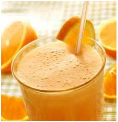 Orange and cinnamon is the star of this great tasting and healthy smoothie  recipe! Preparation