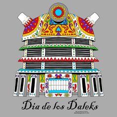 OffWorld Designs - Dia de los Daleks T-shirt, $20.00 (http://www.offworlddesigns.com/dia-de-los-daleks-t-shirt/)