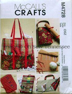 Needlework Accessories - McCalls 4728