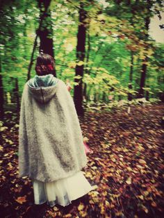 A maiden in the woods...