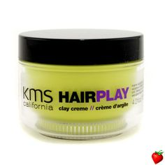 KMS California Hair Play Clay Creme (Matte Sculpting & Texture) 125ml/4.2oz #KMSCalifornia #HairCare #FREEShipping #StrawberryNET #GiftIdeas #Giveaway