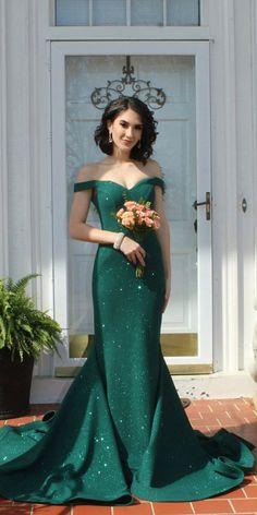 192c76c93ea 18 Green Wedding Dresses For Non-Traditional Bride