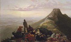 Jerome B. Thompson: The Belated Party on Mansfield Mountain (69.182) | Heilbrunn Timeline of Art History | The Metropolitan Museum of Art